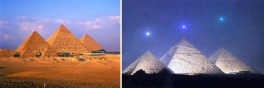 "The Pyramids at Giza on Amelia Curzon's Blog - ""Carte Blanche"""