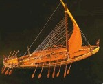 """Replica of an ancient Egyptian ship on Amelia Curzon's Blog - """"Carte Blanche"""""""