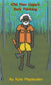 Old Man Gapu's Bark Painting by Kyle Maplesden - Book cover
