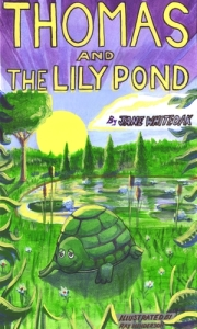 Thomas and the Lily Pond - Book cover