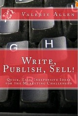 Write, Publish, Sell! by Valerie Allen - Book cover