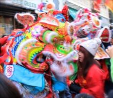 Chinese New Year, Chinatown