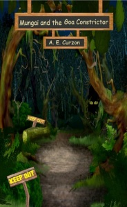 Mungai and the Goa Constrictor by Amelia Curzon - Book Cover