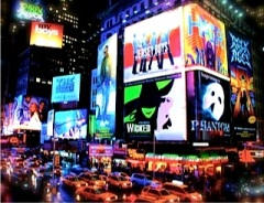 Times Square  - Guest post by Diane Cimine on Carte Blanche by Amelia Curzon