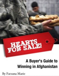 Hearts for Sale: A Buyer's Guide to Winning in Afghanistan by Farzana Marie - Featured post on Carte Blanche by Amelia Curzon